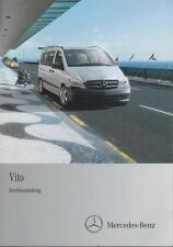 MERCEDES   VITO  639  Betriebsanleitung  2012  Bedienungsanleitung Handbuch  BA