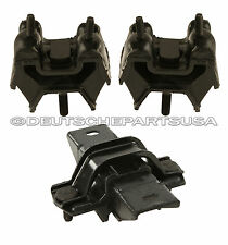 Mercedes ML270 CDI Motor Engine Transmission Mount 99 2000 01 02 03 04 05 -SET 3
