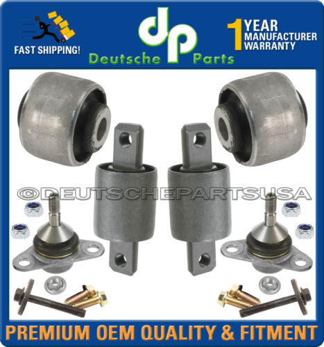 VOLVO V70 XC XC70 CROSS COUNTRY CONTROL ARM ARMS BALL JOINT JOINTS BUSHING SET 6