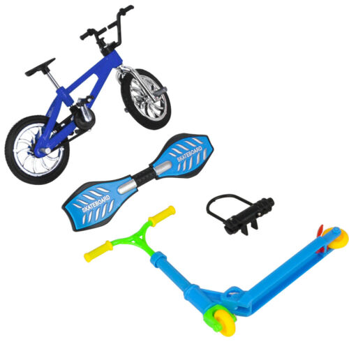 Pädagogisches Spielzeug Spaß Fahrrad Roller für Kinder Mini Finger Skateboard