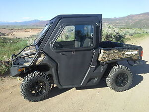Can Am 1000 >> Can-Am Defender Cab Enclosure with Tip out Windshield & Doors | eBay
