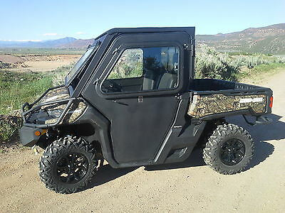 Can Am 2016 17 18 19 Defender Steel Doors Only for Cab Enclosure