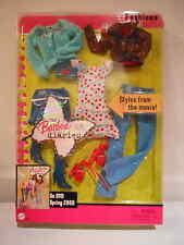 Barbie DIARIES BARBIE FASHIONS Blue Sweater, cherry dress 2005     NRFB