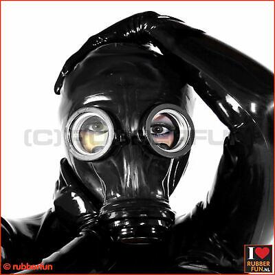 Sex wearing gas mask