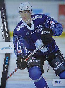 072 Matt Cohen Hamburg Freezers Del 2010-11-afficher Le Titre D'origine Uc871gxt-08005039-476528204
