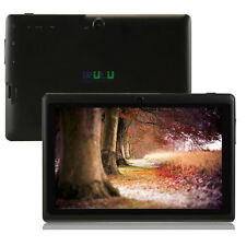 "New iRulu 8GB 7"" Android 4.4 Tablet PC Quad Core Dual Camera Capacitive Black"