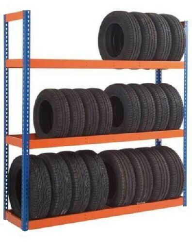Single Sided Tyre Racking- 6/'6/'/' x 6/' x 1/'6/'/' -3 Levels VAT TR618S £127.50