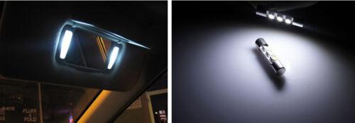 Sun visor  LED light Bulbs for Lexus ES 350 2 Pcs Xenon White Vanity