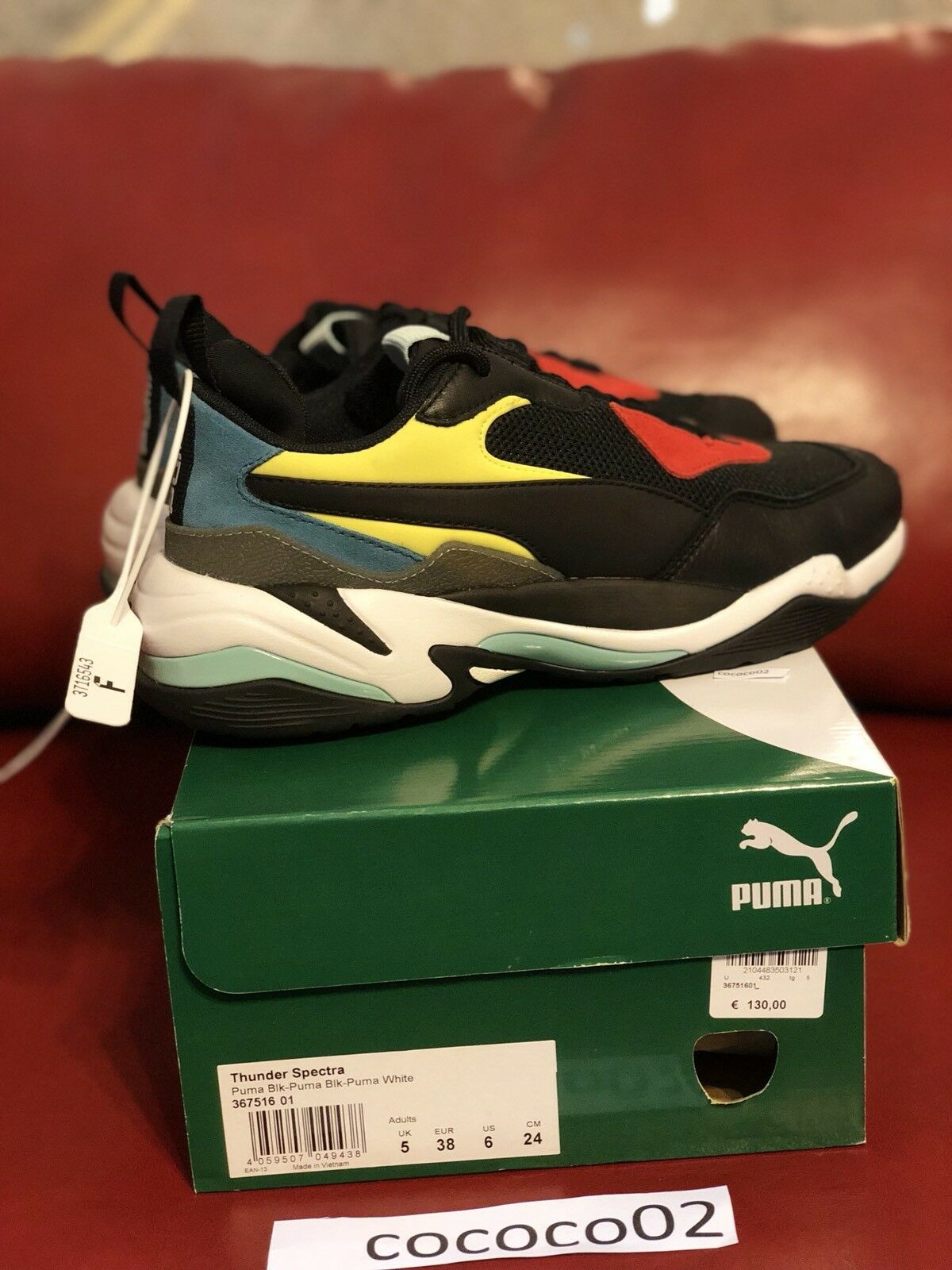 Puma Thunder Spectra 367516-01 US SIZE 6 In Hand Ready To Ship!