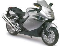 Bmw K1200s Silver Bike 1/12 Motorcycle Model By Automaxx 600303s