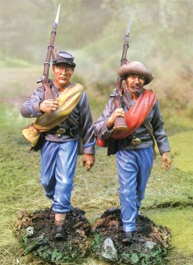 Die Sammler Schaufenster Bürgerkrieg Konföderierter cs00533 nr. 1 CSA Marchers