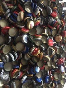 Lot-of-500-Mixed-Beer-Bottle-caps-no-dents