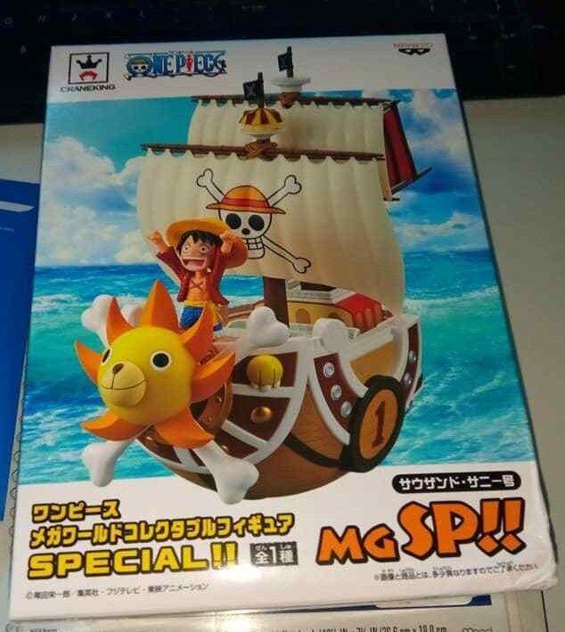 One Piece Mega World Collectable Figure SPECIAL THOUSAND SUNNY Banpresto Banpresto Banpresto JP P607 75607b