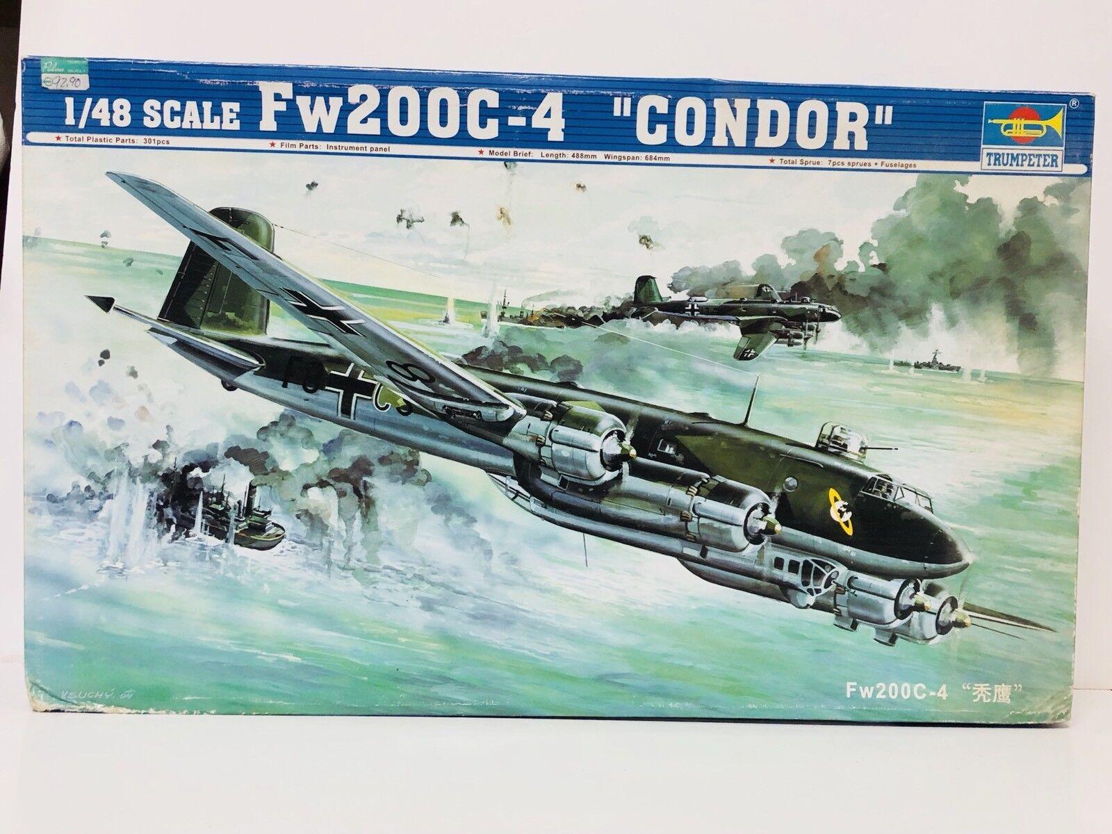 Maqueta TRUMPETER Ref 02814 FW200C-4 CONDOR 1/48