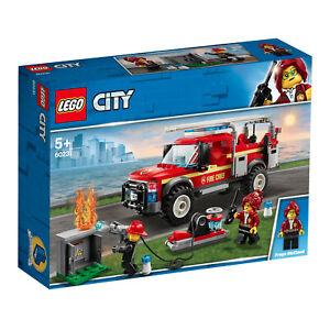 LEGO-City-60231-Feuerwehr-Einsatzleitung-Neu-amp-OVP