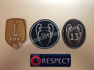 Patch World Champions winners 2016 Iron-On Real Madrid