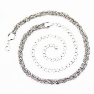 Mujer-Oro-Plata-Cinturon-Negro-Mujer-Chicas-Cadena-Cintura-Hebilla-De-Moda-231