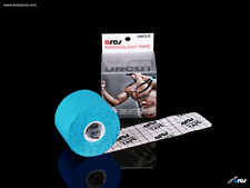 Ares Tape Uncut - Kinesiology Elastic Sports Tape PRO - Blue - Support KT