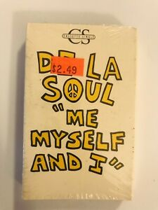 DE-LA-SOUL-Me-Myself-And-I-1989-CASSETTE-SINGLE-3rd-Bass