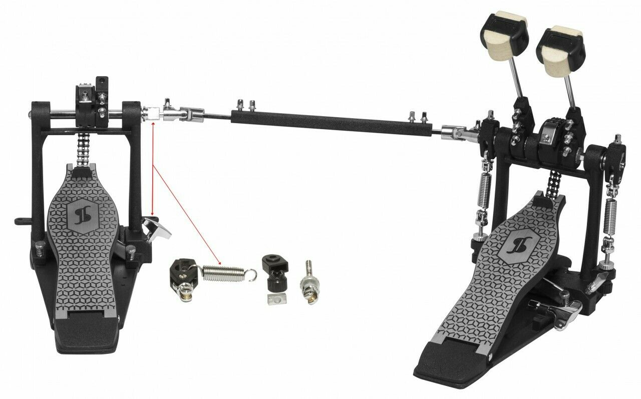 Stagg PPD-52 Double Bass Drum Pedal (NEW)