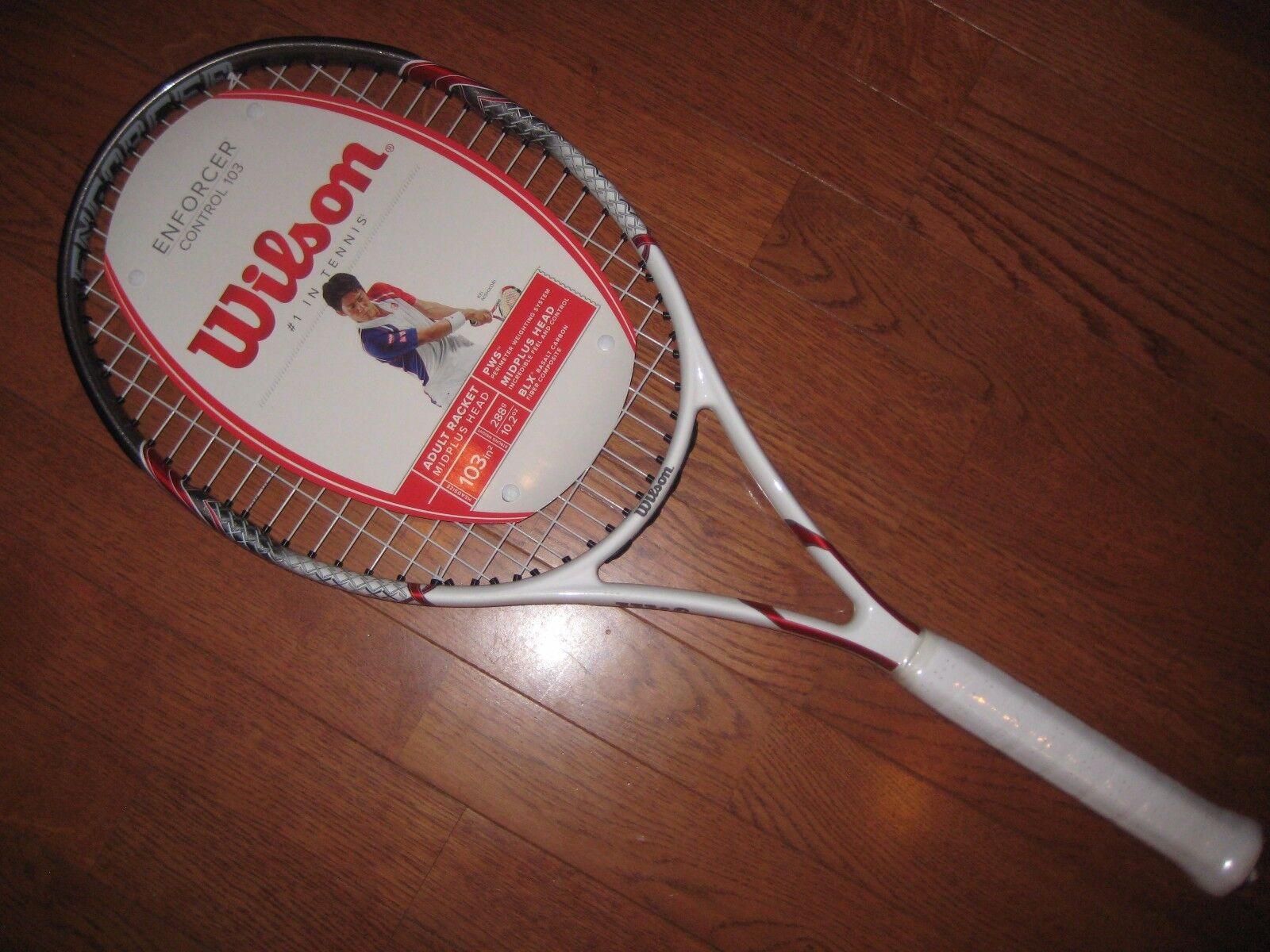 Wilson Enforcer Control 103 Tennis Racquet (Brand New )