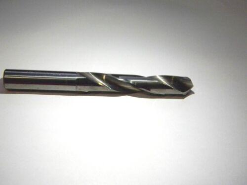 """Precision D33F 1//2/"""" x 3/"""" x 4-3//4/"""" 118° Carbide Jobber Length Drill 003623"""