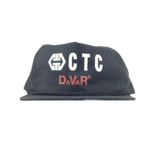 CTC DaVaR (Lab & Test Equipment) Black Baseball Ca