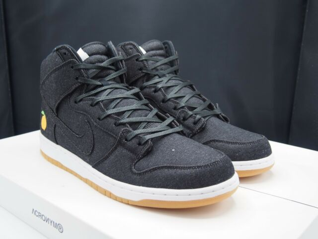 0ee7cb7bb7 Nike SB Dunk High TRD QS Pro Momofuku Denim David Chang 881758-071 ...