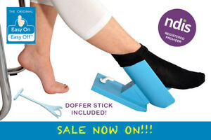 The Original Authentic COMPLETE Easy on Easy off Sock-Aid  Kit with Shoe Horn