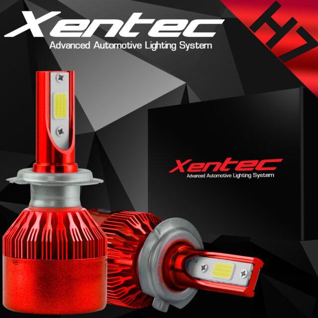 XENTEC LED HID Headlight kit 9006 White for 2001-2006 GMC Sierra 2500 HD