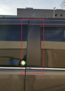 Compatible with 2008-2020 Dodge Grand Caravan Black Front Right Passenger Side B-Pillar Door Applique