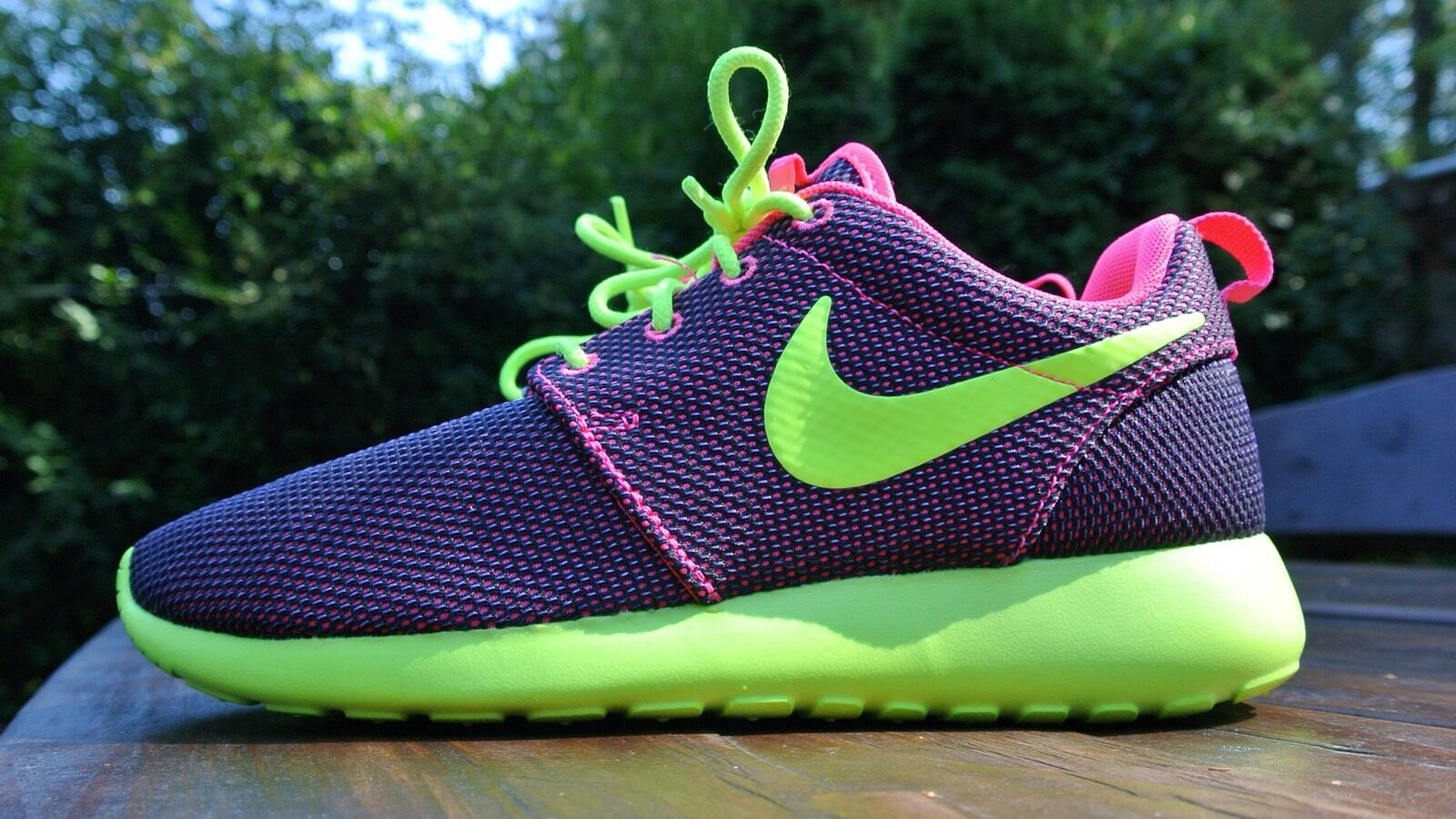 nike roshe run Women Running Crossing shoes Multi Color 100% Authentic