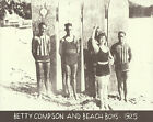 BETTY COMPSON BEACH BOYS 1925 Hawaii LONGBOARD Photo Print #1305 11
