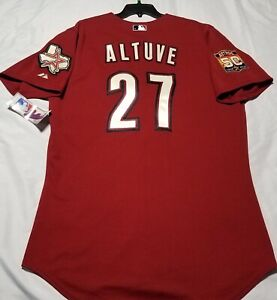 new arrival f3aff 785ed Details about Authentic! Majestic SIZE 60 4XL HOUSTON ASTROS, JOSE ALTUVE,  ROOKIE Jersey RARE!