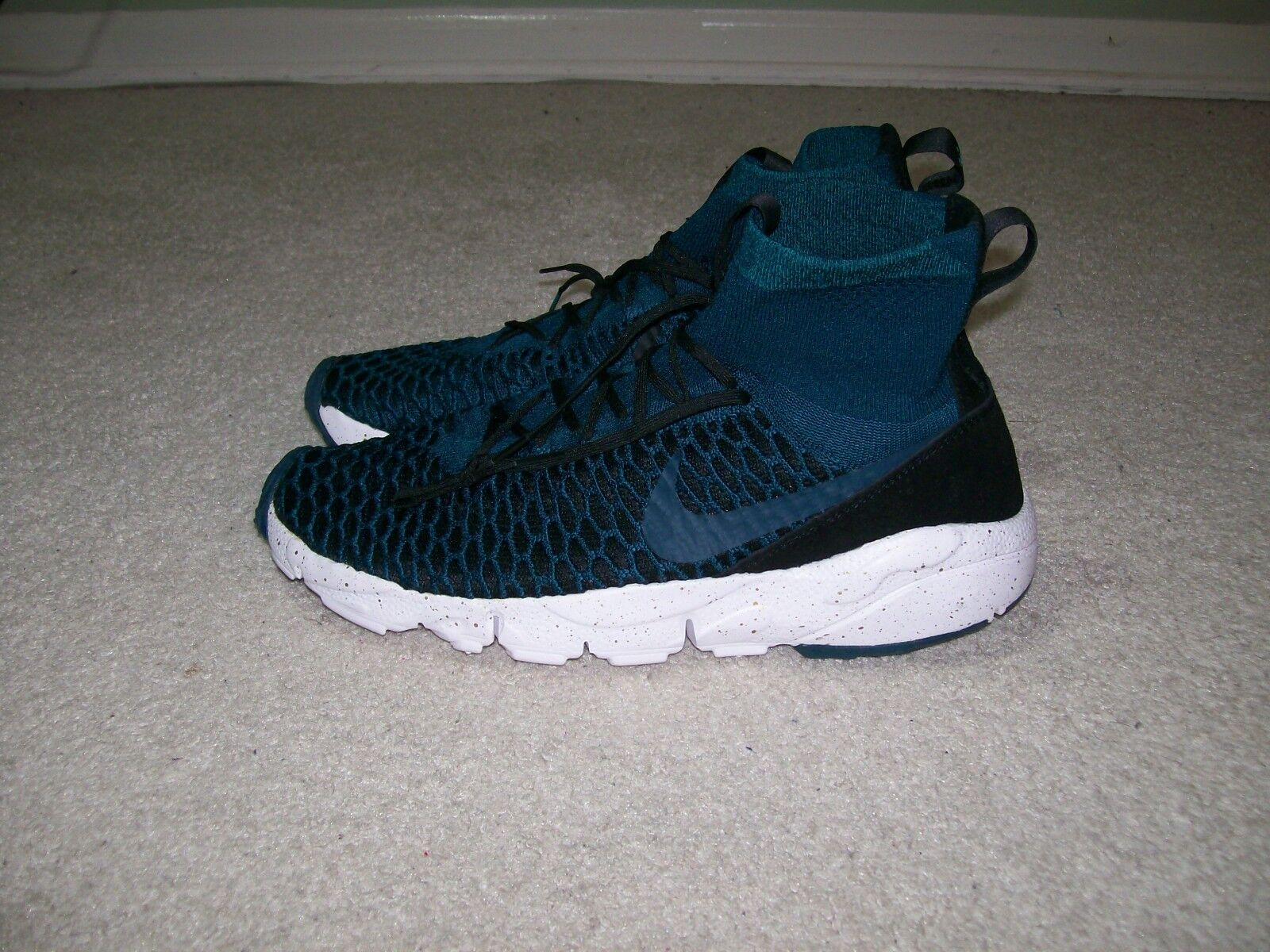 SZ 10.5 Mens Nike Air Footscape Magista FK FC Midnight Turquoise 830600 300