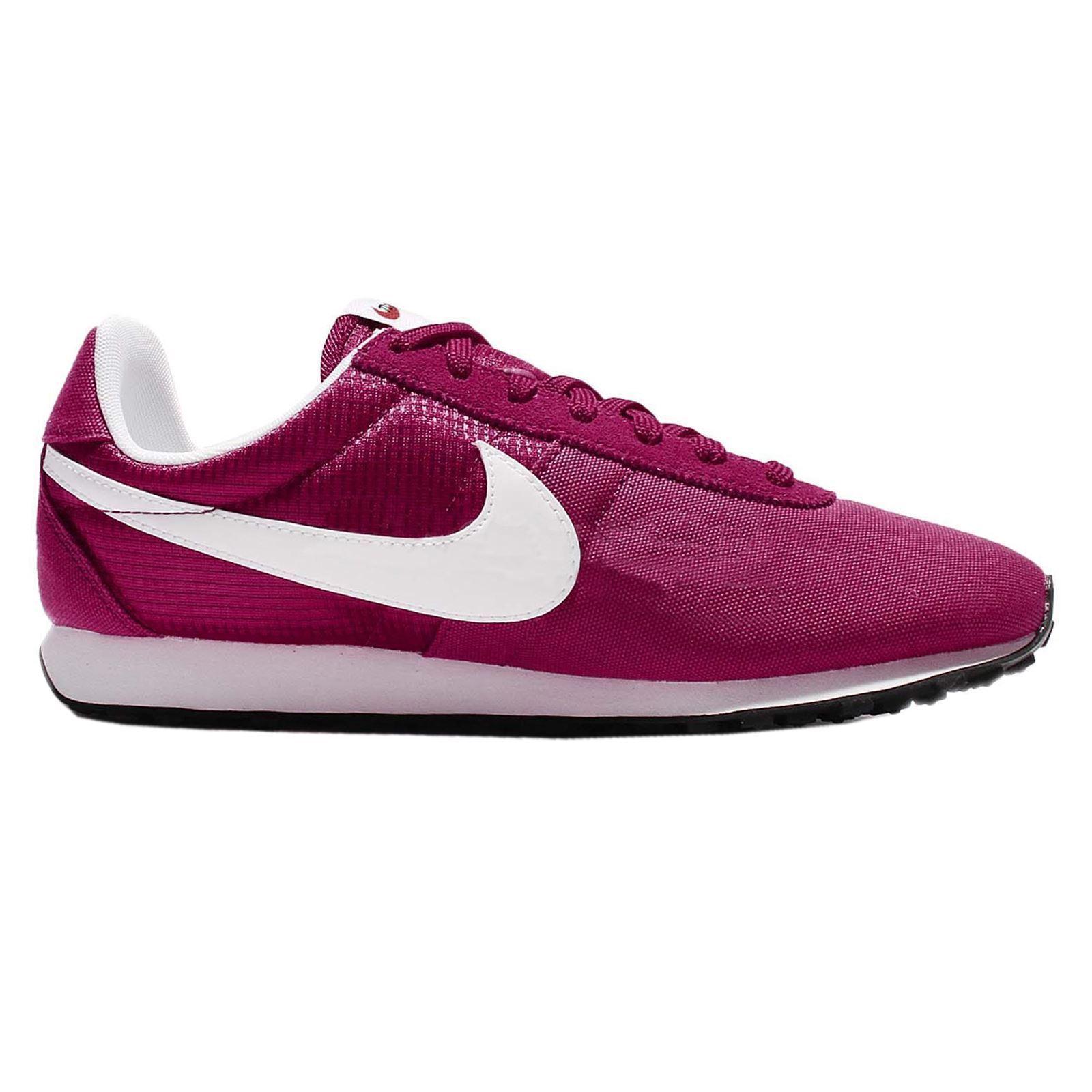Los zapatos más populares para hombres y mujeres Descuento por tiempo limitado Nike Pre Montreal Racer Vintage Sport Fuchsia White Womens Casual Laced Trainers