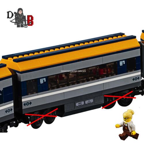 LEGO City Train de voyageurs 60197 Buffet Transport Seulement-Pas de BOGIES//ROUES