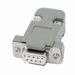 uxcell 20 Pcs DB9 RS232 Serial 9 Pin Female Connector Adapter