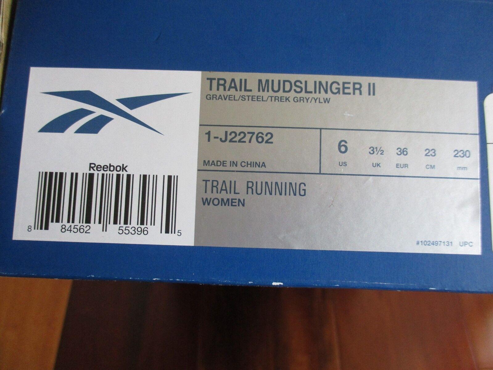 BNIB Reebok running Trail Mudslinger II Damenschuhe trail running Reebok schuhe, Größe 6 527bfc