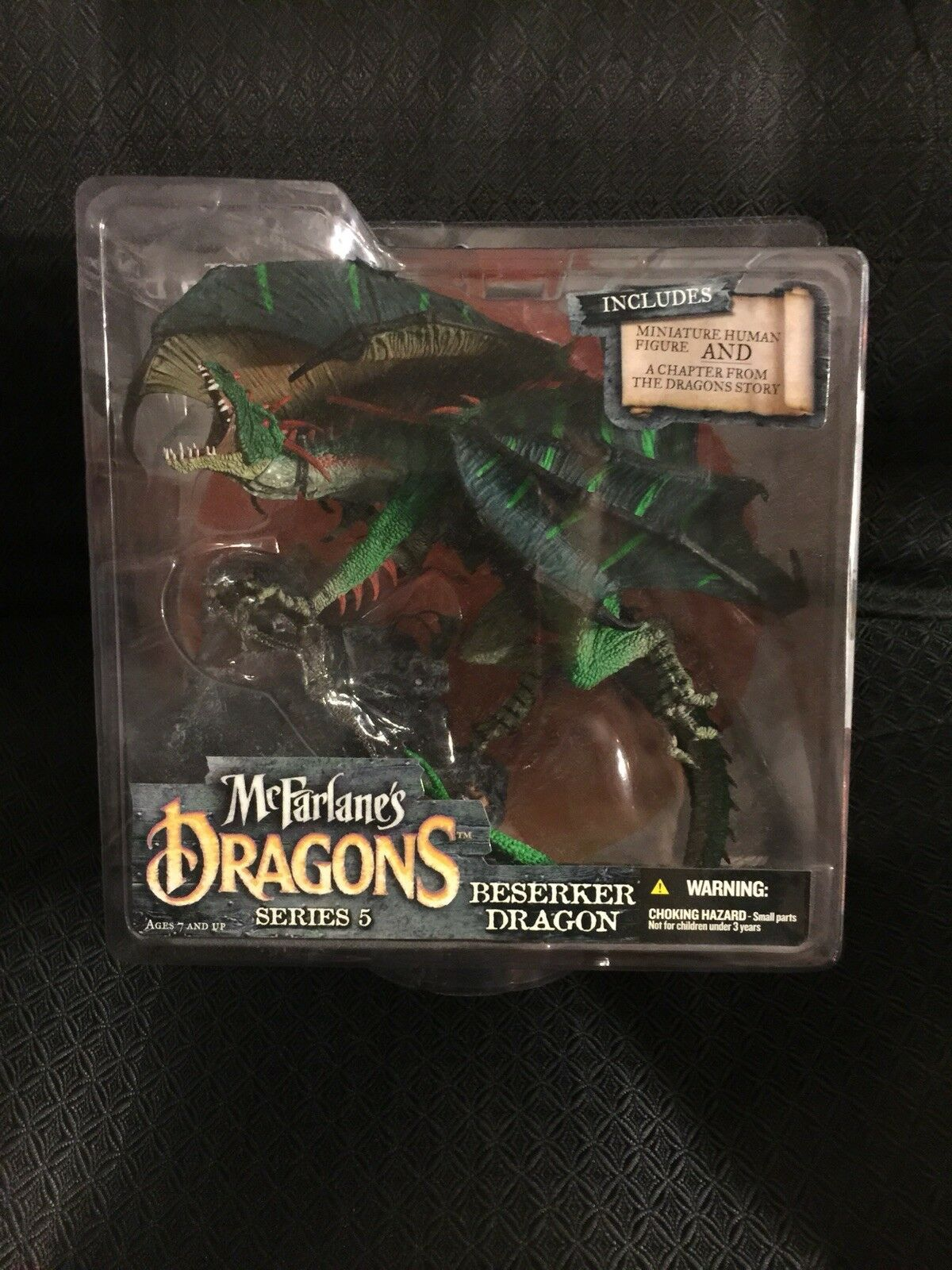2006 McFarlane Dragon Series 5 Ftutti Of The Dragon redom Berserker Clan cifra
