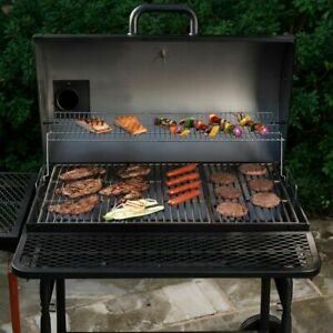 Large Grill Outdoor BBQ Charcoal Professional XL Backyard Cooker Smoker Best Big
