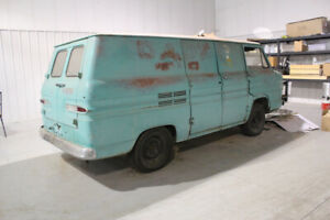 Rare Find - 1961 Corvair Panel Van