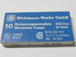 10 x MT 800mA  Feinsicherungen Fuse Miniature Glassich FSP Püsch 5x20mm 10pcs