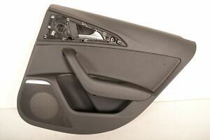 AUDI-A6-C7-2-0-TDI-2013-RHD-REAR-RIGHT-DOOR-CARD-TRIM-COVER-PANEL-4G0867222A