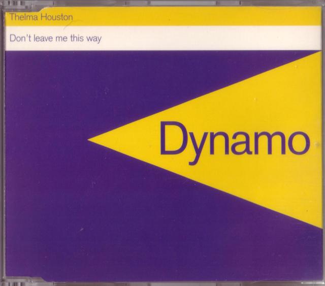 THELMA HOUSTON - Don't leave me this way -CDM- 1995 - CD MAXI - UK House