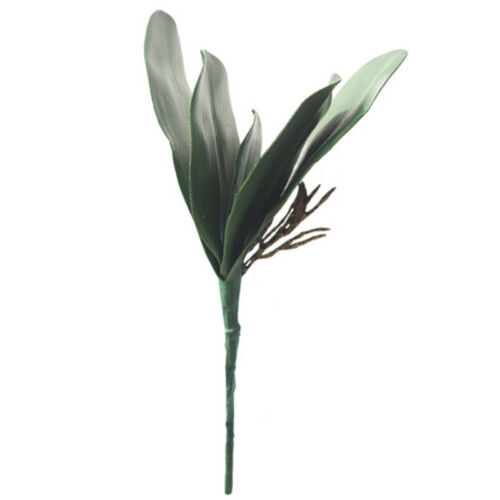 Butterfly Orchid Silk Leaf Fake Flowers Home Wedding Party Decor Artificial