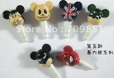IPhone 4 5 6  Ipad 2 3 Laptop Anti Dust Plug Ear Phone Dustproof Violence Bear
