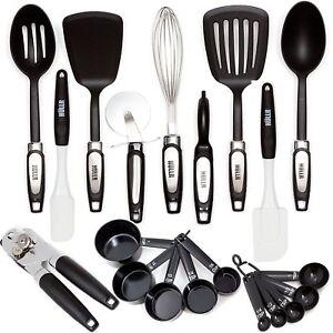 kitchen utensils images. Hullr 20-piece Premium Cooking Kitchen Utensils Tool Gadget Set 20piece Images