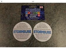 Stormsure Circular Patch Tuff Tape (Pack Of 2)