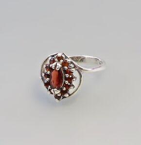 9927565-925er-Silber-Granat-Ring-Gr-51